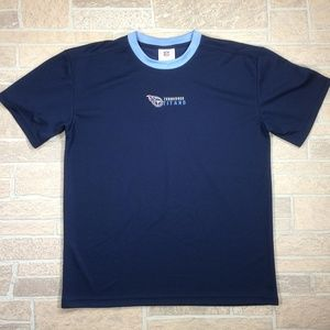 Tennessee Titans NFL Football Blue Polyester Shirt